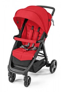 Wózek spacerowy Baby Design Clever New 2019 Red 02