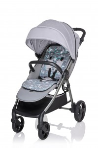 Wózek spacerowy Baby Design Wave 27 Light Gray