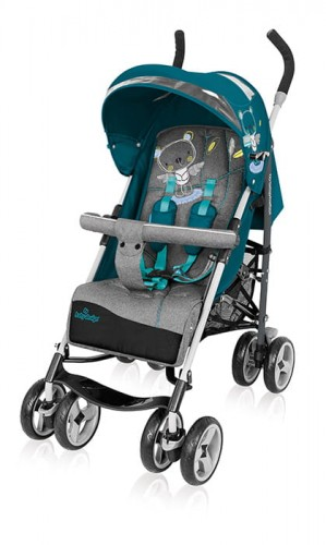 Wózek spacerowy Baby Design Travel Quick 05 Turquoise