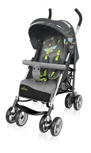 Wózek spacerowy Baby Design Travel Quick 07 Gray